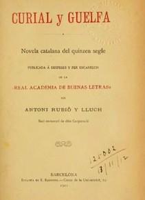 Pistas literarias para desvelar el misterio del Curial e Güelfa