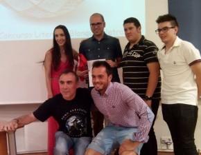 David Rodríguez, ganador del I Concurso 'Blanquivioletras'