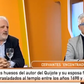 Cervantes encontrado